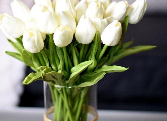 10PCS Tulip Artificial Flower Real Touch Artificial Bouquet Fake Flower