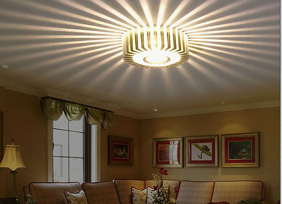 Creative Led Ceiling Light Fixtures Modern Indoor Colorful Decorative Lamp Wall