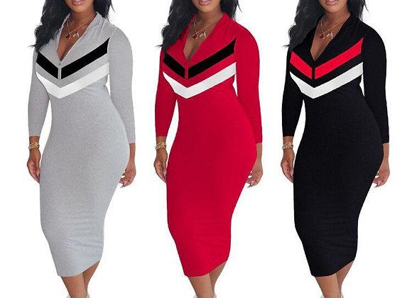CM.YAYA Autumn Active Wear Long Sleeve Zipper Up Striped Splicing Women Sports