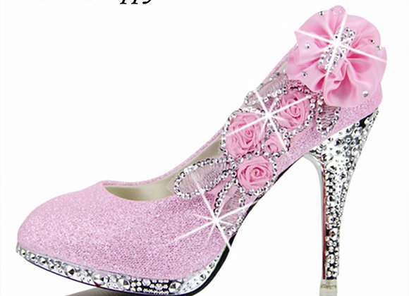 Colorful High Heels Fashion Party Women Shoes Thin Heel 8cm 10cm A721