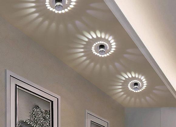 3W Led Wall Lamp AC85-265V Modern Light Fixture Luminous Lighting Simple Fashion