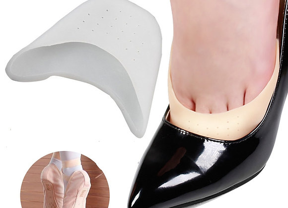 2pcs Feet Finger Protector Silicone Gel Pointe Toe Cap Cover for Toes Soft Pads