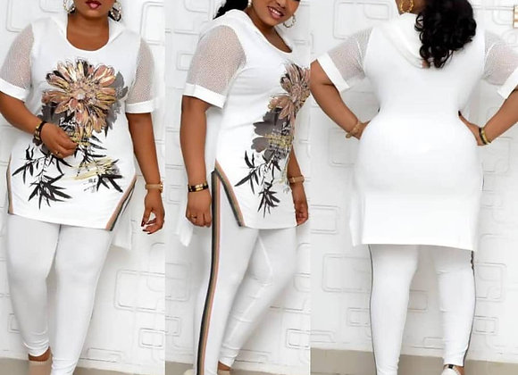 2 Piece Set Africa Clothing African Clothes Ladies Plus Size Party Dress Dashiki
