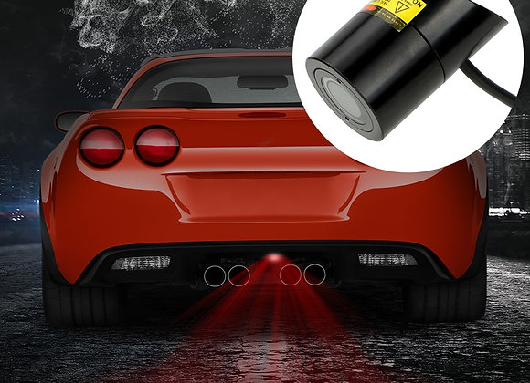 FORAUTO Car LED Projection Light Warning Laser Tail Logo Projector Auto Brake