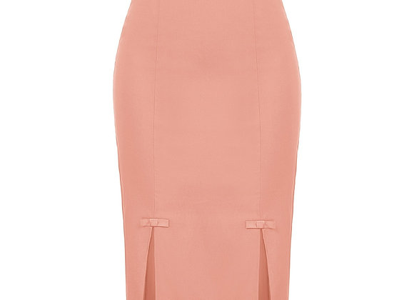 Belle Poque Women Skirts Bow-Knot Decorated Hips-Wrapped Bodycon Skirts