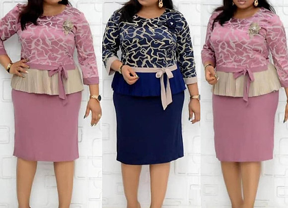 2 Piece Sets Spring Autumn Dashiki African Dresses for Women New Arrival Female