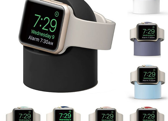 Charger Stand Mount Silicone Dock Holder for Apple Watch