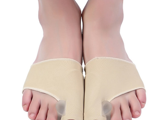 1pair Breathable Foot Fingers Toe Separator Thumb Valgus Protector Painless