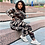 Thumbnail: CM.YAYA Fashion Women Camouflage Tracksuit Hooded Long Sleeve Tops Pencil jogger