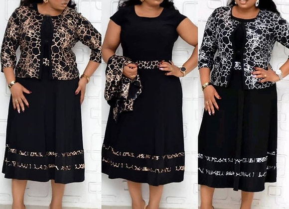 African Dresses for Women New Arrival Women Printing Plus Size Polyester