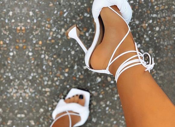 Eilyken New Women Shoes Gladiator Sandals Sexy High Heels Sandals Summer
