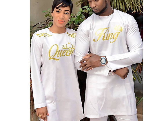 African Dress for Woman Soft Material Embroidery Design Dress Top and Pants