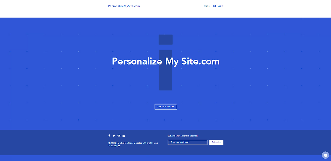 clbi personalizemysite.com pic.PNG
