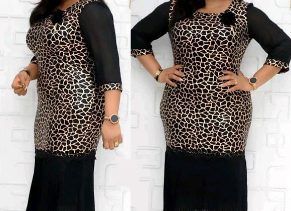 2021 Autumn Sexy African Women Printing Plus Size Dress  African Clothes  Americ