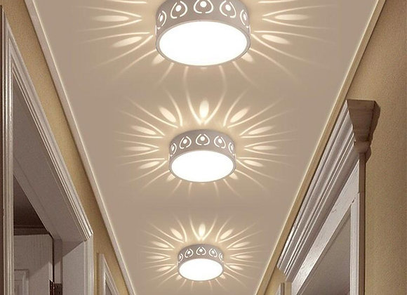 3w/5w LED Ceiling Lamp Modern Color LED Ceiling Lights Decoration Shadow Cor