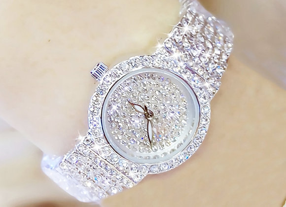 BS Women Watch Famous Luxury Brands Diamond Ladies Wrist Watches Female Small