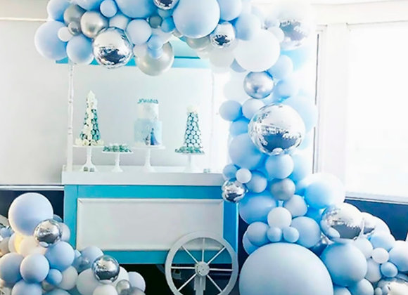 Fengrise Colorful Balloon Arch Chain Oh Baby Birthday Party Decor Kids Latex