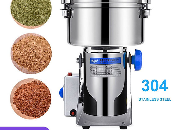 2500G Stainless Steel Grinder Machine Large-Scale Crusher Household  Mill Comme