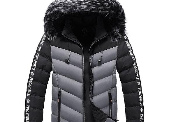 2020 New Fashion Jacket Mens Cotton Padded Parkas Autumn Winter Warm Outwear