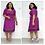 Thumbnail: Elegant African Clothing Dress Female Office Lady