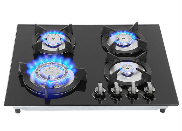 Cooktop Household 4 Burners Liquefied Gas Stove Cooker Kitchen Cooking Accessory