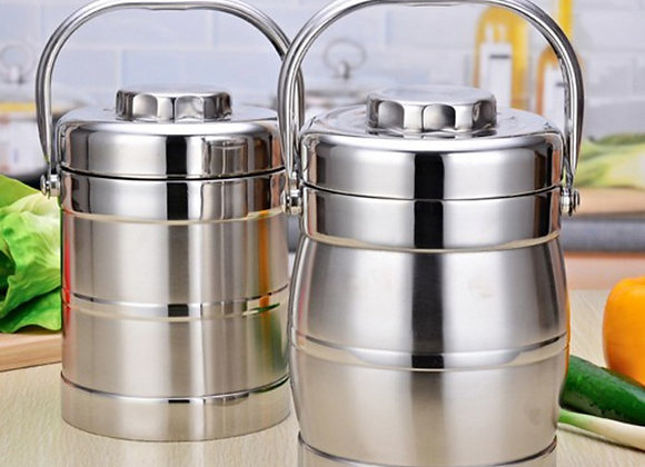 3 Layer Vacuum Insulation Stainless Steel Lunch Box for Kids Adult Office Large