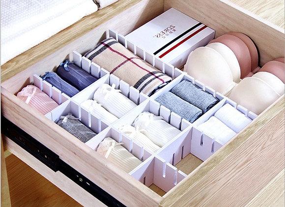 DIY Bedroom Drawer Storage Boxes Underwear Closet Drawer Divider Lidded Closet