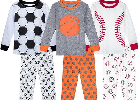 Children Pajamas Kids Boy Winter Sleepwear Set Child