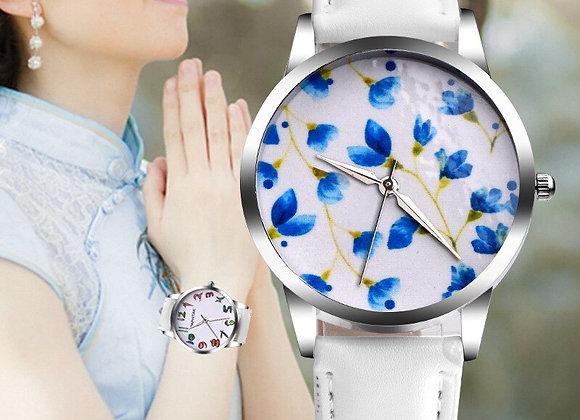 2019 Luxury Brand Women's Watch Simple Style Leather Band Quartz Watch Fashion