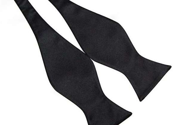 8 Colors Stylish Mens Bowties Solid Color Plain Silk Self Tie Bow Ties New