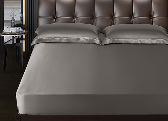 DISANGNI Real Silk Bed Sheet Large Extra Large 100% Pure Mulberry Silk Luxury