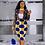 Thumbnail: 2 Piece Women Set Dashiki African Long Sleeve Two Piece Set Crop Top Suits Midi