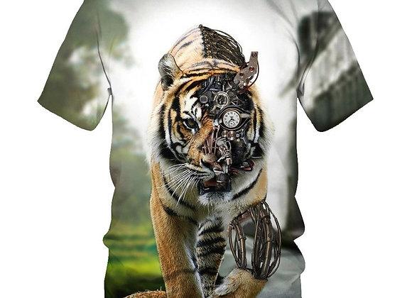 2020 Children's T-Shirts Boy Girls 3D Printed Tiger T-Shirts Lion Sweatshirts