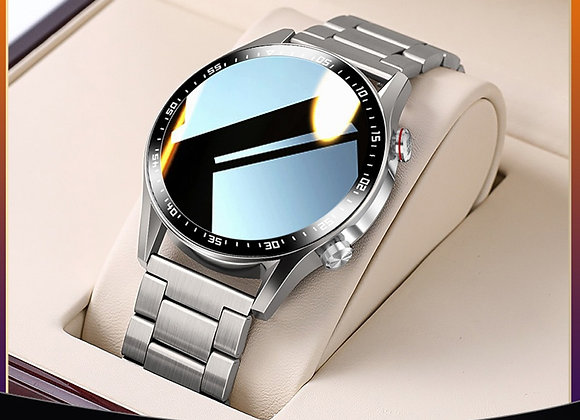 E1-2 Smart Watch Men Bluetooth Call Custom Dial Full Touch Screen Waterproof