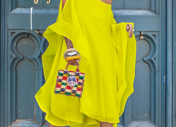 Chiffon Off Shoulder Dresses Loose Summer Women Fashion Oversize Loose Holiday