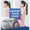 Thumbnail: 3D Cloud Pillow With Pillow Case 3D Neck Pillow Creative Deep Sleep Neck Pillow