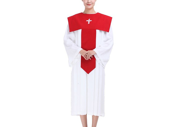 Christian Church Choir Dress Woman Clergy Robes Poetry Class Service Christian
