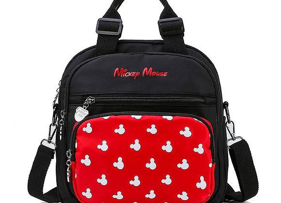 Disney Mickey New Large-Capacity Travel Mummy Bag Fashion Mummy One-Shoulder Mes