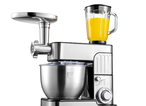 1000W 7L Kitchen Chef 3-In-1 Electric Stand Egg Whisk Dough Cream Mixer Machine