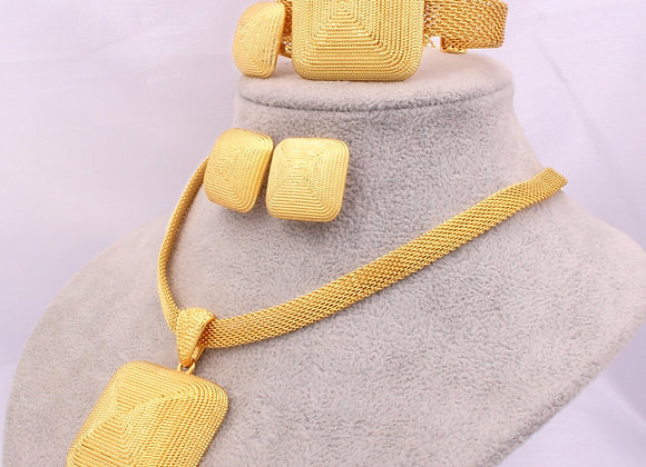 Dubai Gold 24K Jewelry Sets for Women African