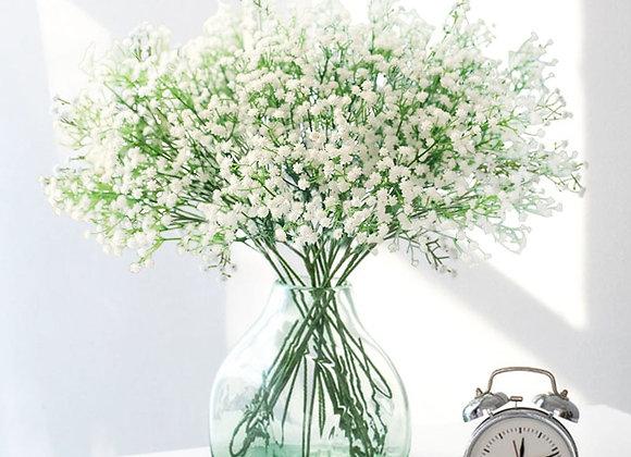 1Pc 90Heads Artificial Baby's Breath Flowers Gypsophila Fake Plant for Wedding