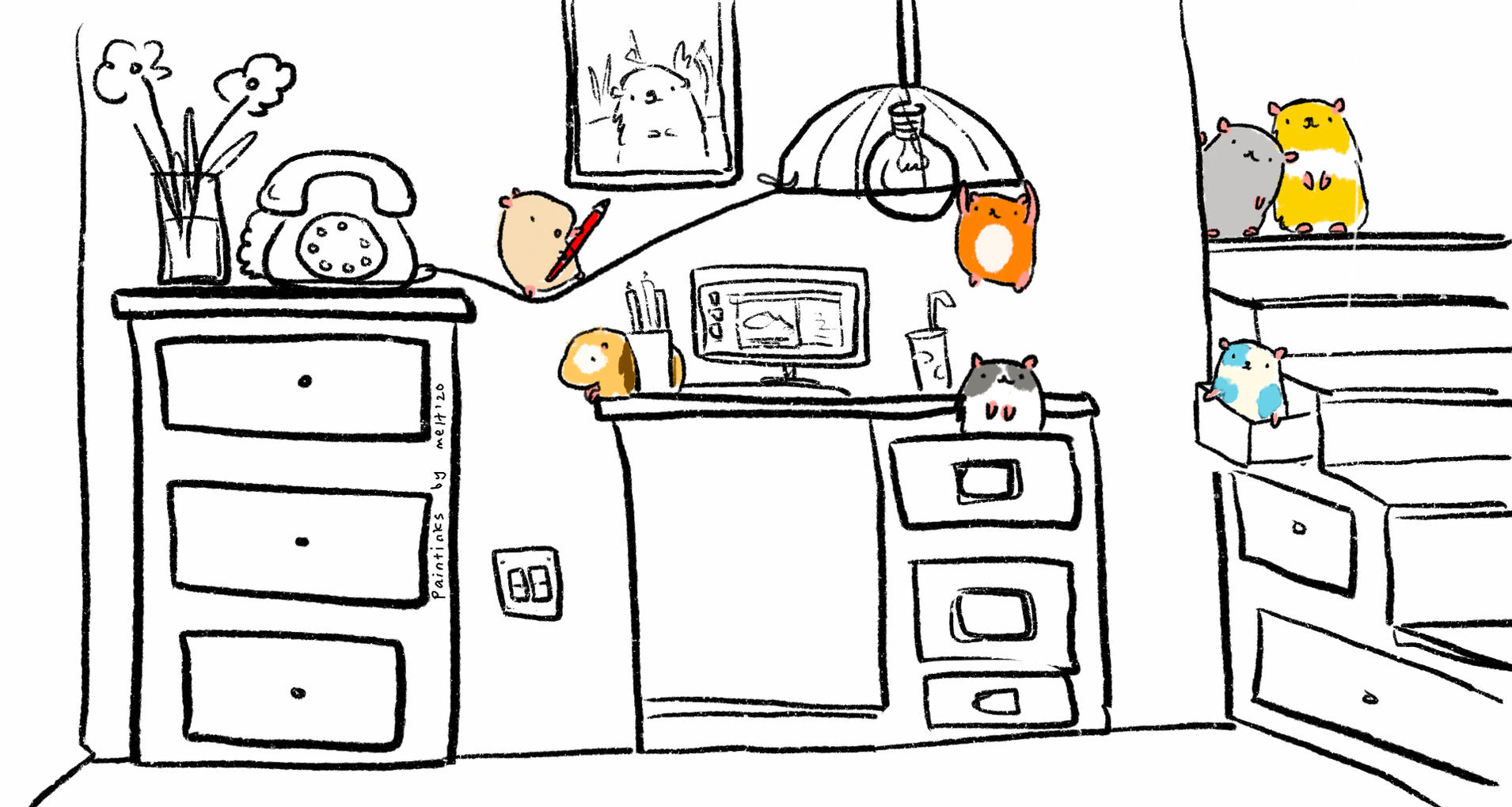 Hamsters take over!