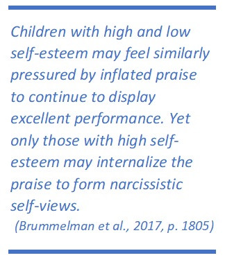 Brummelman et al., 2017 quote