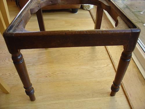 restored antique chair