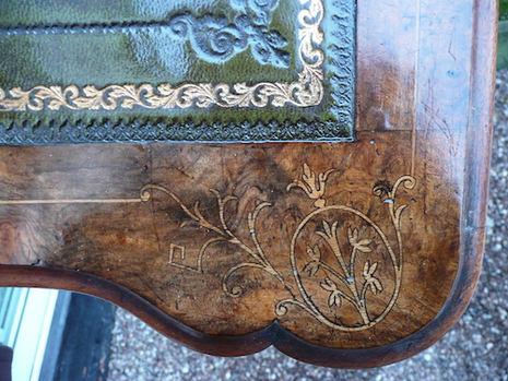 restored Davenport desk