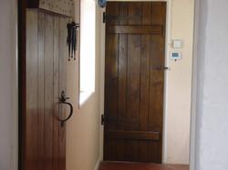 solid oak door cottage