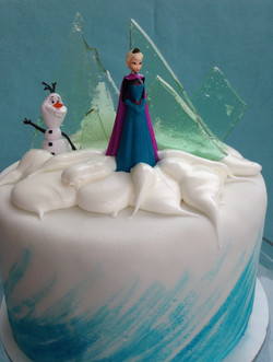 Elsa and Olaf