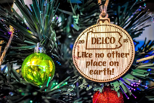 Delco Christmas Ornaments