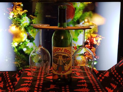 Wine Glass Holder - CUSTOM DESIGNED