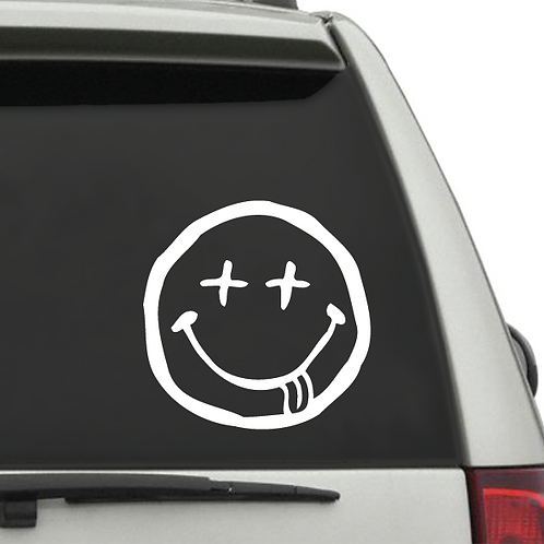 Decal - Messed up Smiley